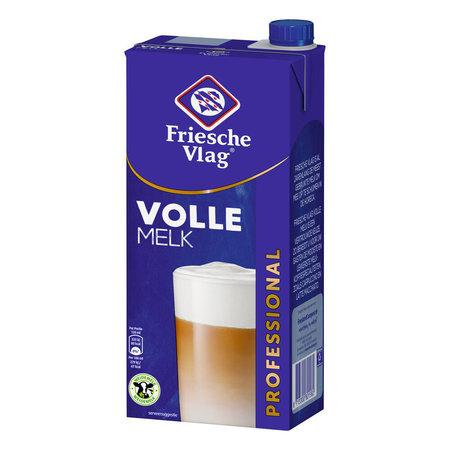 Friesche Vlag Friesche Vlag - Volle Melk 1Lt Pak, 12 Pack