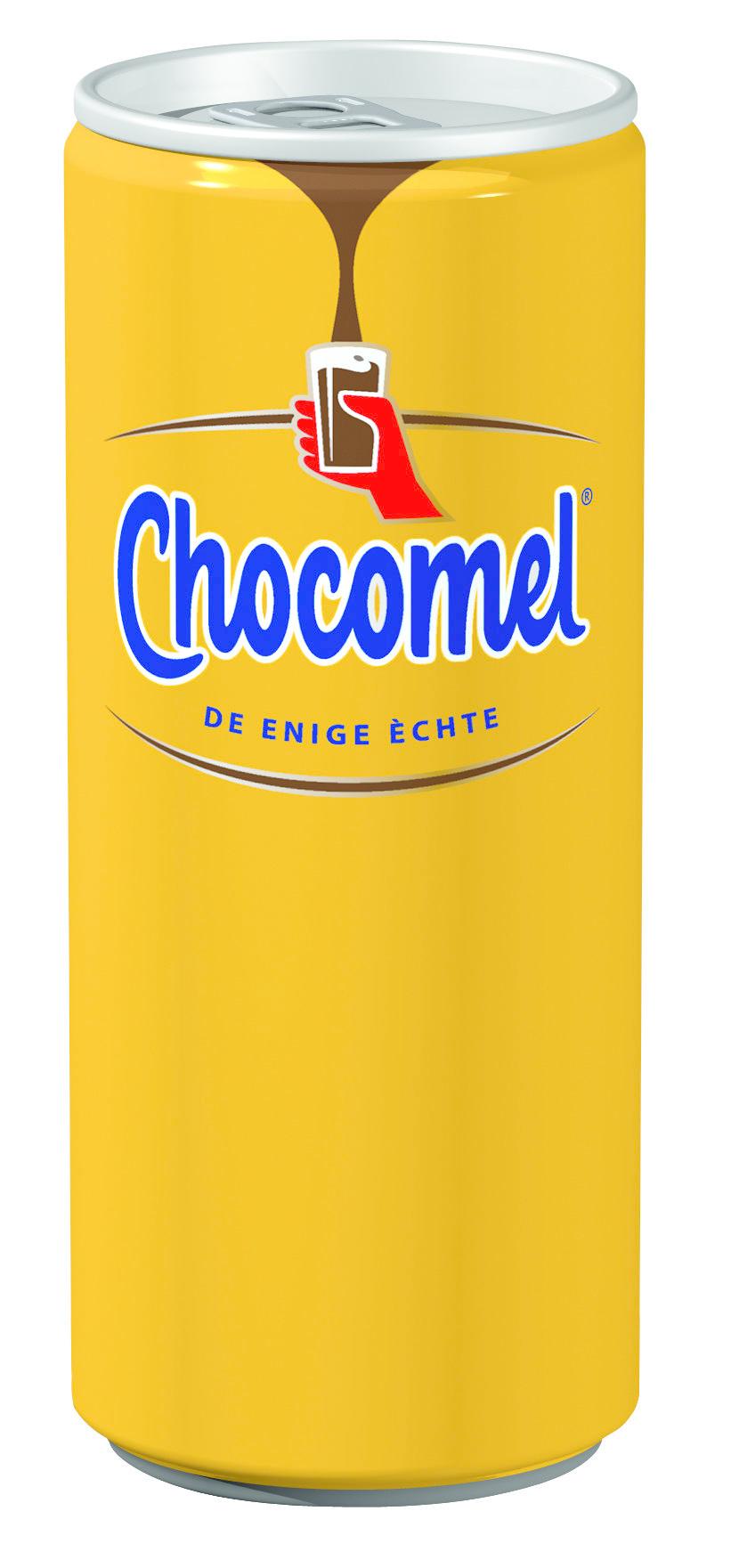 Chocomel Chocomel - Chocomel 25Cl Blik, 24 Blikken