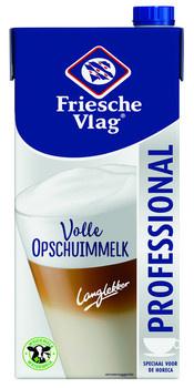 Friesche Vlag Friesche Vlag - Langlekker Opschuim 1Lt Pak, 12 Pack