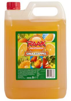 Raak Raak - Raak Siroop Sinaasappel, 4 Stuks