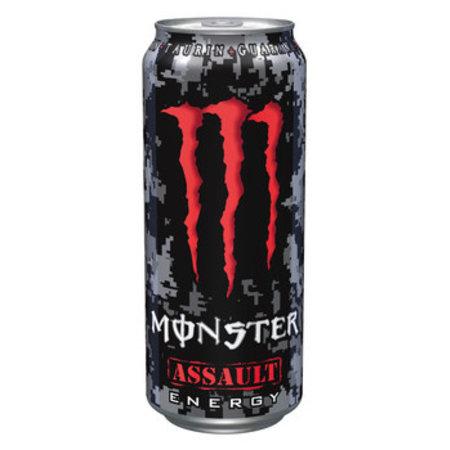 Monster Monster - Monster Assault 50Cl Blik, 12 Blikken