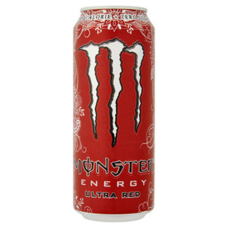 Monster Monster - Monster Ultra Red 50Cl Blik, 12 Blikken