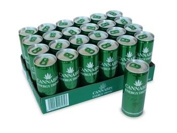 Cannabis Cannabis - Cannabis Energy 25Cl Blik, 24 Blikken