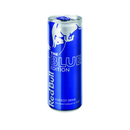 Red Bull Red Bull - Red Bull Blue Edit 25Cl Blik, 12 Blikken