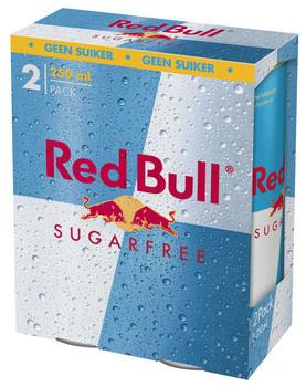 Red Bull Red Bull - Red Bull Sugarfr 2Pk 25Cl Blik, 12 2 Pack