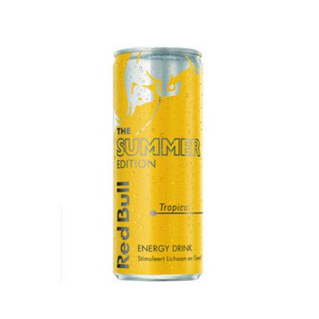 Red Bull Red Bull - Red Bull Tropical Edit.25Cl Bl, 12 Blikken