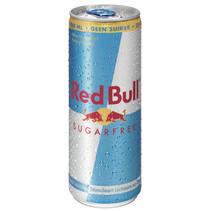 Red Bull - Red Bull Sugarfree 25Cl Blik, 24 Blikken