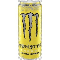 Monster - Monster Ultra Citron 50Cl Bli, 12 Blikken