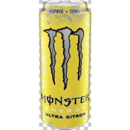 Monster Monster - Monster Ultra Citron 50Cl Bli, 12 Blikken