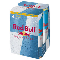 Red Bull - Red Bull Sugarfr 4Pk 25Cl Blik, 6 4 Pack