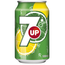 Seven Up - Seven Up 33Cl Blik, 24 Blikken