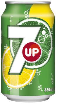 Seven Up Seven Up - Seven Up 33Cl Blik, 24 Blikken