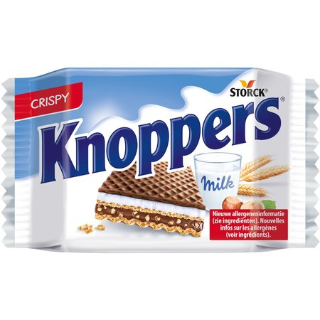 Knoppers Knoppers - Knoppers 25Gr, 24 Stuks