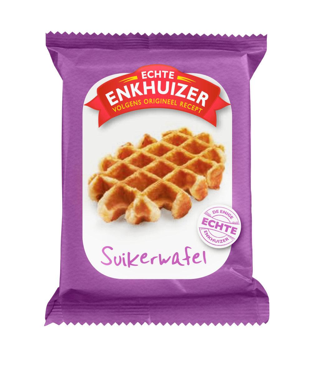Echte Enkhuizer Echte Enkhuizer - Suikerwafel 90G, 24 Stuks
