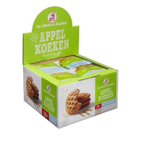 De Molen De Molen - Appelkoek A1, 30 Stuks