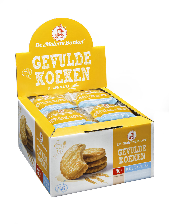 De Molen De Molen - Gevulde Koek A1, 30 Stuks