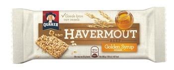 Quaker Quaker - Havermoutreep Golden Syrup 35G, 24 Repen