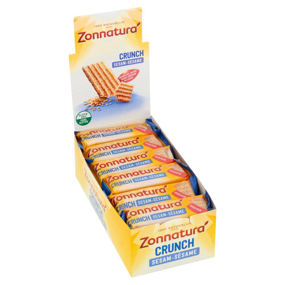 Zonnatura Zonnatura - Sesam Crunch 50Gr, 24 Pack