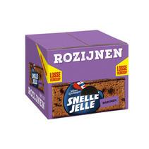 Wieger Ketelapper - Snelle Jelle Rozijnenkoek 70G, 20 Pack