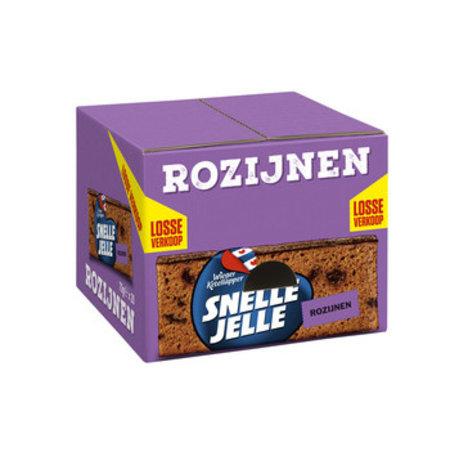 Wieger Ketelapper Wieger Ketelapper - Snelle Jelle Rozijnenkoek 70G, 20 Pack