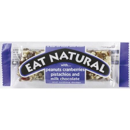 Eat Naturals Eat Naturals - Peanut,Cranb,Pistache,Milkchoc, 12 Repen