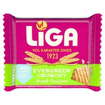 Liga - Evergreen Crunchy Muesli/Roz, 24 Pack