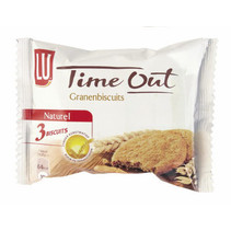 Lu - Time Out Granenbisc Nat 3St, 24 Pack