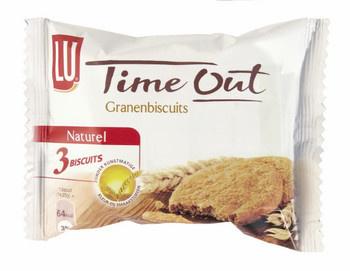 LU Lu - Time Out Granenbisc Nat 3St, 24 Pack