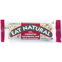 Eat Naturals - Reep Cranb./Macademia+Choc., 12 Repen