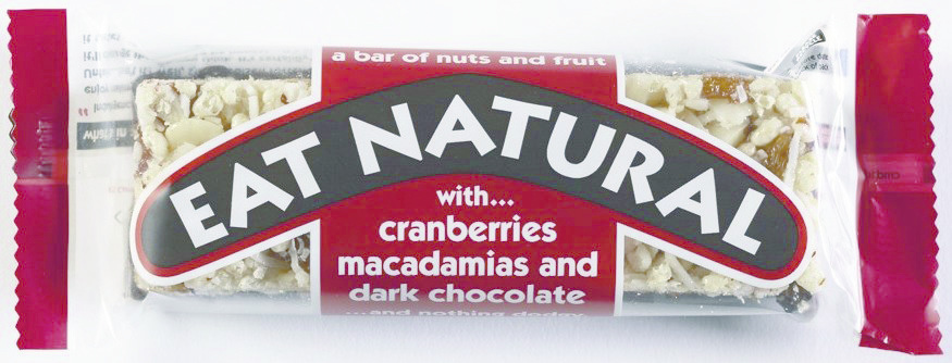 Eat Naturals Eat Naturals - Reep Cranb./Macademia+Choc., 12 Repen