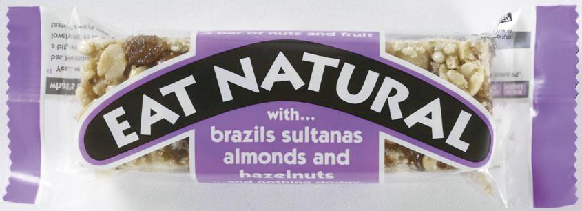 Eat Naturals Eat Naturals - Brazils Sultanas Almond&Hazeln, 12 Repen