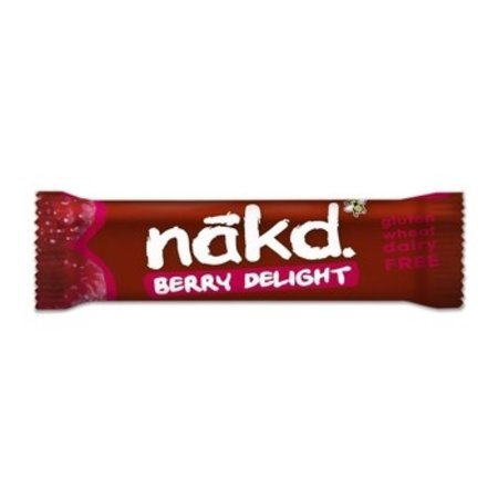 Nakd Nakd - Nakd Berry Delight 35G, 18 Repen