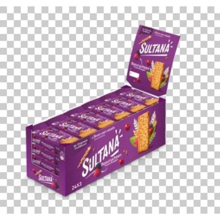 Sultana Sultana - Sultana Fruitbisc.Bosvr.43G, 24 Stuks