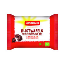 Zonnatura - Bio Rijstwafel Pure Chocolade, 11 Pack