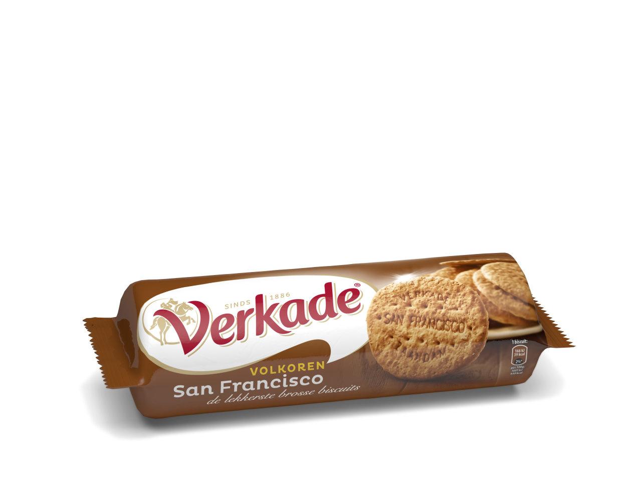 Verkade Verkade - C&C San Francisco 250Gr Volk., 6 Rollen