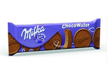 Milka Milka - Chocowafer Melk 180G, 18 Pack