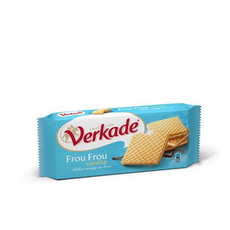 Verkade Verkade - Frou-Frou Vanille 150G, 12 Pack