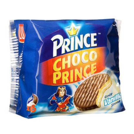 Prince Prince - Lu Choco Prince Vanille  171G, 24 Dozen