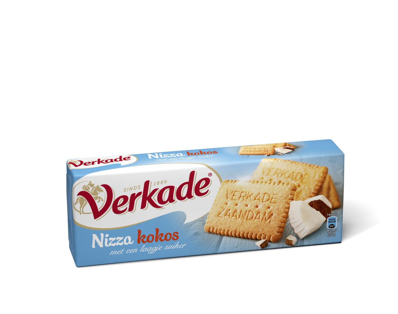 Verkade Verkade - C&C Nizza 240Gr, 6 Pack