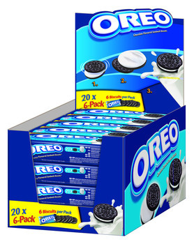 Oreo Oreo - Oreo Cookies 66 Gram, 20 Stuks