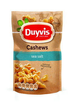 Duyvis Duyvis - P&N 125G Cashews Sea Salt, 10 Zakken