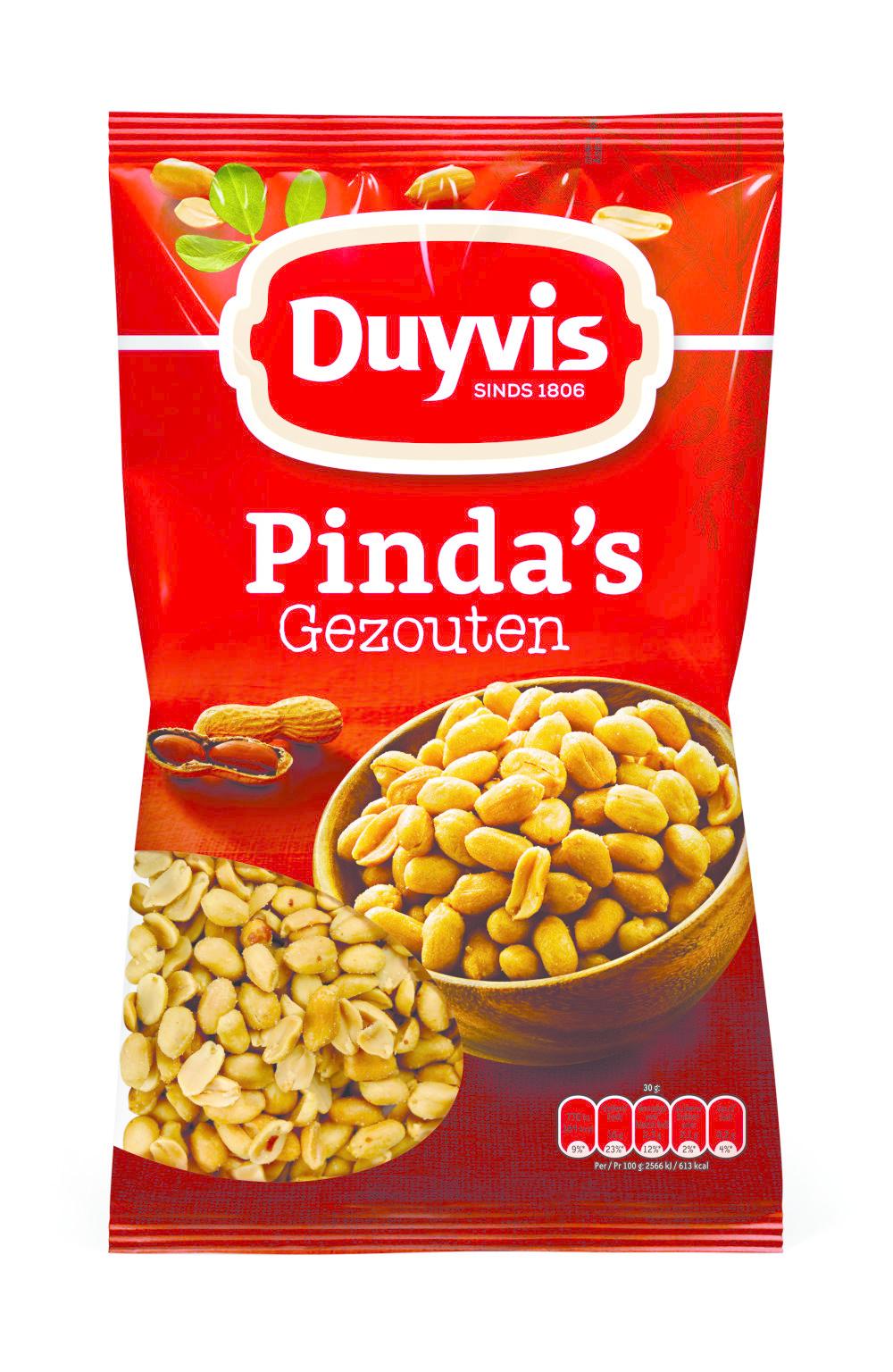 Duyvis Duyvis - Pinda'S Gezouten 12 X Zak 1Kg, 12 Zakken