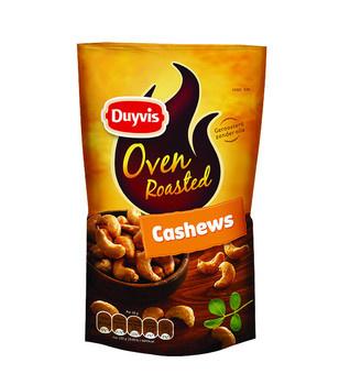 Duyvis Duyvis - Dry Roasted Cashew Salt 125G, 10 Zakken