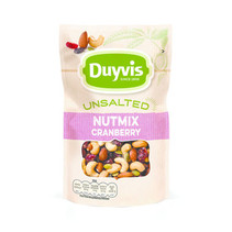 Duyvis - Nat.Goodn.Uns.Mix Cranb.125G, 10 Zakken
