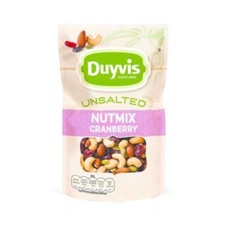 Duyvis Duyvis - Nat.Goodn.Uns.Mix Cranb.125G, 10 Zakken