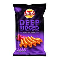 Lay'S - Deep Ridged Sweet Chili, 9 Zakken