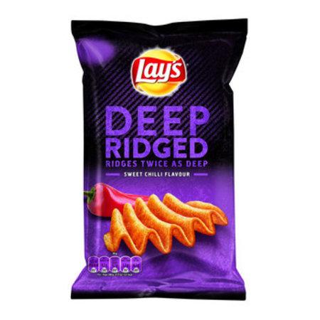 Lay's Lay'S - Deep Ridged Sweet Chili, 9 Zakken
