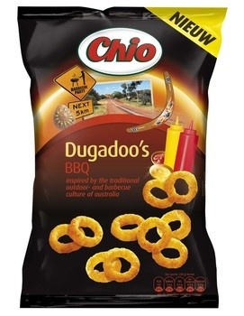 Chio Chio - Chio Dugadoo Roasted Paprika, 12 Zakken