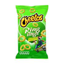 Cheetos - Ringlings 125G Uiensmaak, 12 Zakken