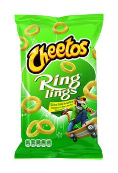 Cheetos Cheetos - Ringlings 125G Uiensmaak, 12 Zakken